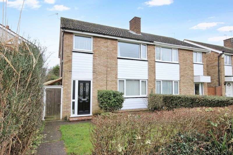 3 Bedrooms Semi Detached House for sale in Aviary Walk Brickhill, Bedford