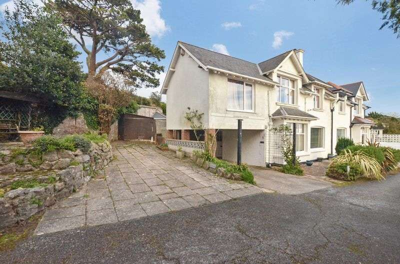 4 Bedrooms Semi Detached House for sale in Higher Lincombe Road, Torquay
