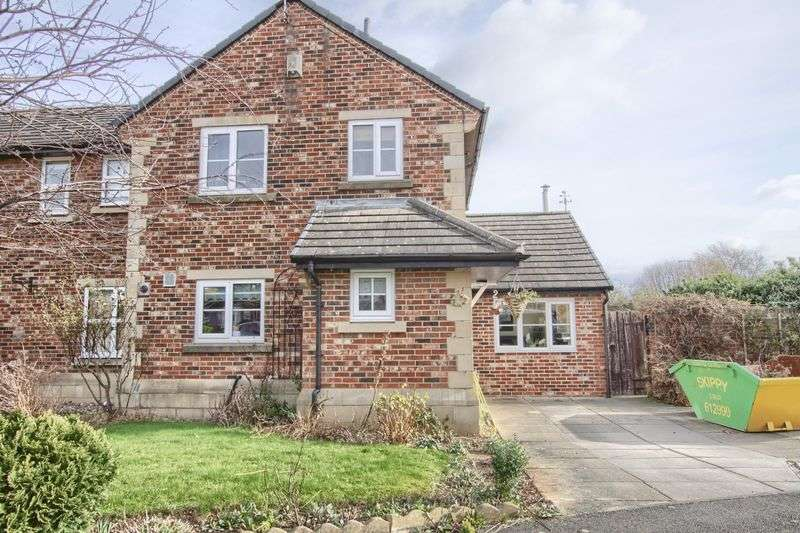 3 Bedrooms Semi Detached House for sale in Ingleborough Lane, Ingleby Barwick