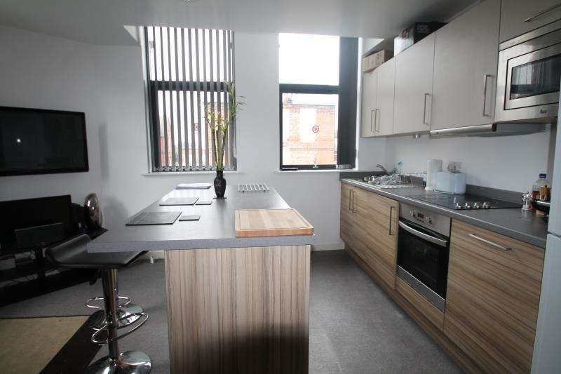 3 Bedrooms Flat for rent in Flat 3 The Gregory, 214 Ilkeston Road, Nottingham, NG7 3HG
