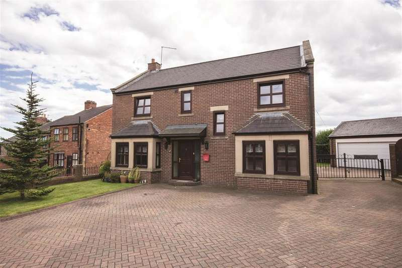 4 Bedrooms Detached House for sale in 7 Blue House Court, Washington, Tyne and Wear NE37