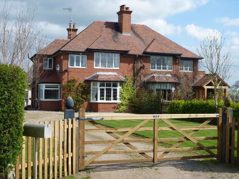 2 Bedrooms Semi Detached House for sale in Hollin Green Lane Newhall Nantwich