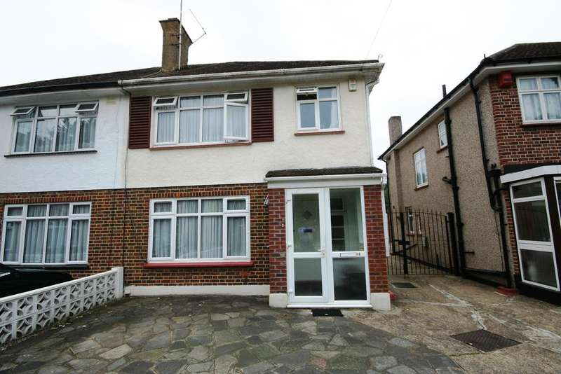 3 Bedrooms Semi Detached House for sale in Brookfield Crescent, Kenton HA3