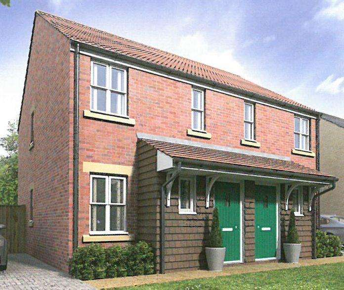 2 Bedrooms Semi Detached House for sale in NEW HOUSE, PLOT 34 35 HAMILTON GATE, FRINTON ON SEA