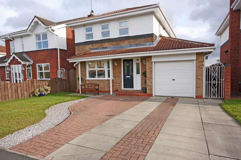 4 Bedrooms Detached House for sale in Warkworth Drive, Deneside View, Chester-le-Street DH2 3JR
