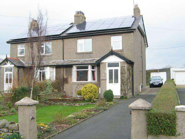 3 Bedrooms Semi Detached House for sale in 17 Springfield, High Bentham, Nr. Lancaster LA2