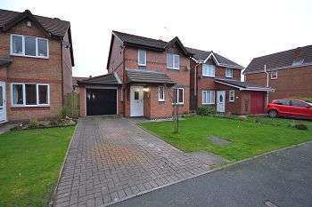 3 Bedrooms Detached House for sale in Buckland Drive, Kitt Green, Wigan