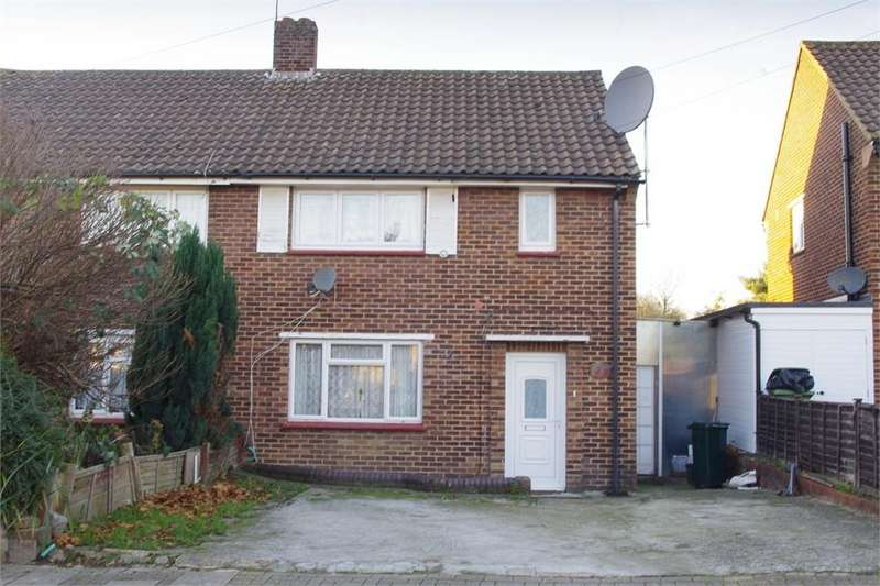 2 Bedrooms Semi Detached House for sale in Haddon Road, St Mary Cray, ORPINGTON, Kent