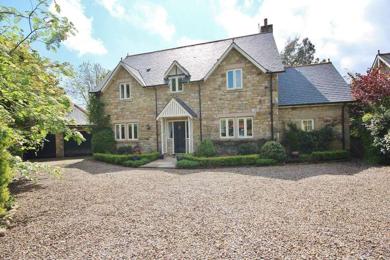 4 Bedrooms Detached House for sale in Tanglewood, Kennel Wood, Eshott, Morpeth, Northumberland NE65