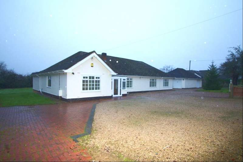 6 Bedrooms Detached Bungalow for rent in Leicester Lane, Desford, Leicester, LE9