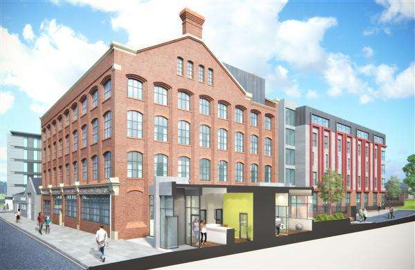 Studio Flat for sale in Fox Street Village, Fox Street, Liverpool