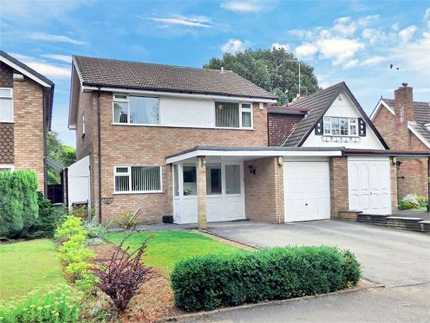4 Bedrooms Detached House for sale in Chester Road, Castle Bromwich, Birmingham, West Midlands