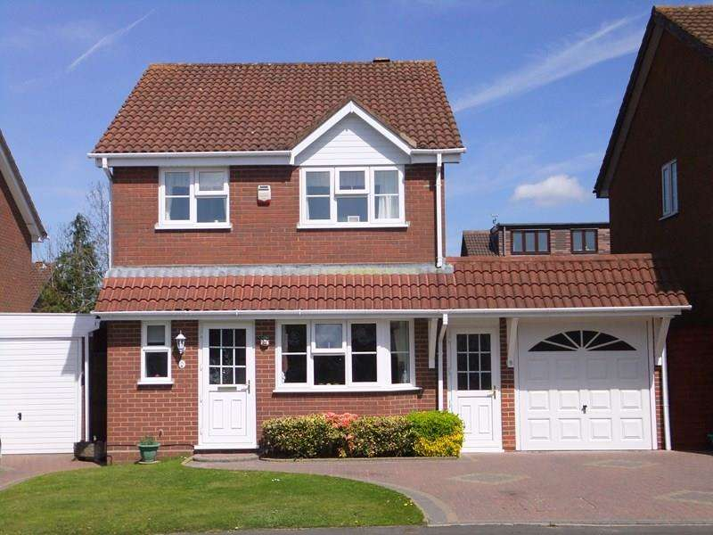 4 Bedrooms Detached House for sale in Rushford Close, Monkspath, Solihull