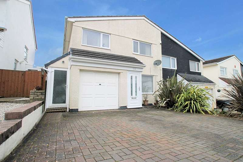 3 Bedrooms Semi Detached House for sale in Hemerdon Heights, Plympton, PL7 2HA