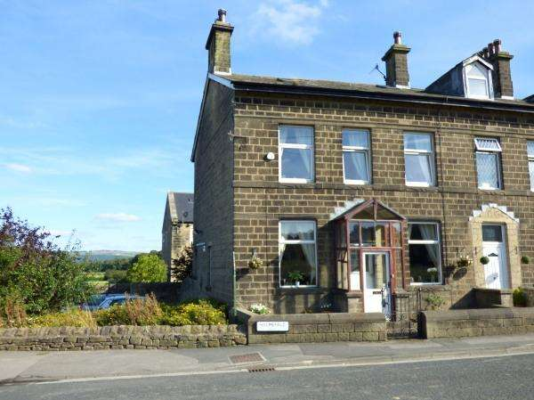 3 Bedrooms End Of Terrace House for sale in Holmefield Farm, Holme Lane, Sutton in Craven BD20 8DD
