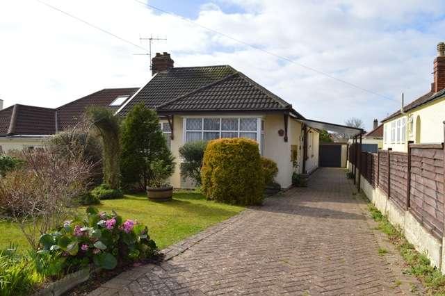 3 Bedrooms Bungalow for sale in Grove Road, Milton, Weston-Super-Mare
