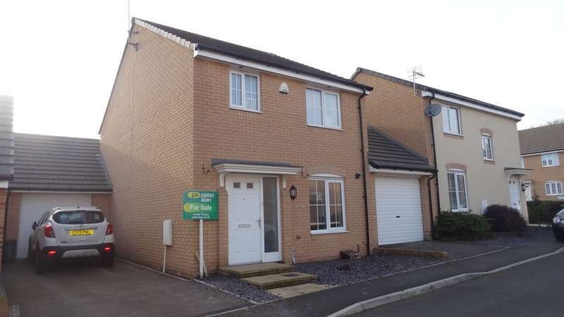 3 Bedrooms Detached House for sale in Golwg Y Coed, Barry