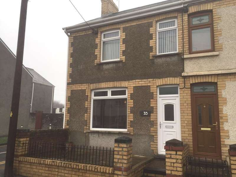 3 Bedrooms End Of Terrace House for sale in Heol Fach, North Cornelly, Bridgend