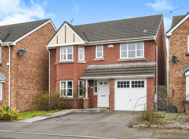 4 Bedrooms Detached House for sale in Soarel Close, St. Mellons, Cardiff