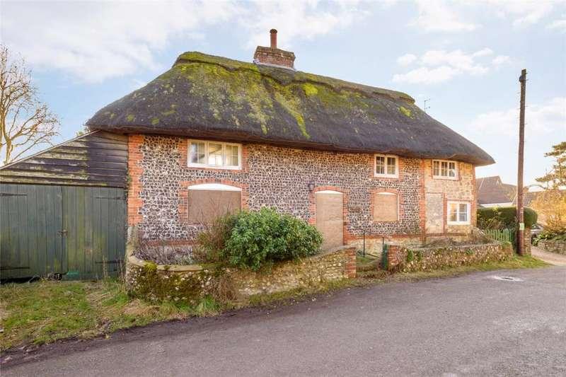 2 Bedrooms Detached House for sale in Hog Lane, Amberley, Arundel, West Sussex, BN18