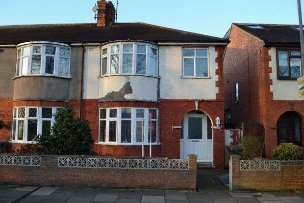 3 Bedrooms End Of Terrace House for sale in Delapre Crescent Road, Far Cotton, Northampton NN4 8NG
