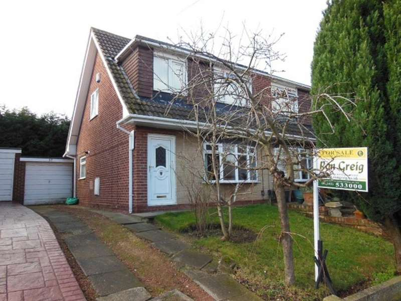 3 Bedrooms Semi Detached House for sale in Dovedale Road, Norton, Stockton On Tees TS20