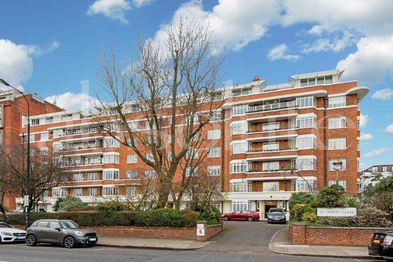 3 Bedrooms Flat for sale in St. James Close, London