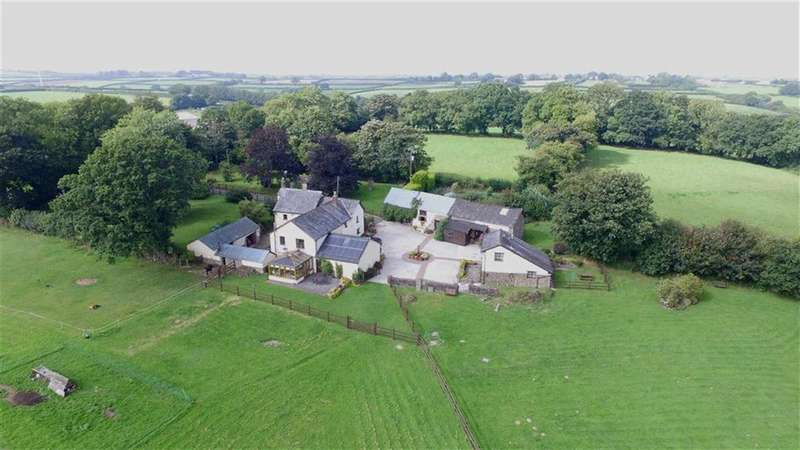 5 Bedrooms Detached House for sale in Riddlecombe, Chulmleigh, Devon, EX18