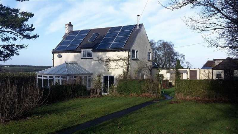 3 Bedrooms Detached House for sale in Sampford Courtenay, Okehampton, Devon, EX20