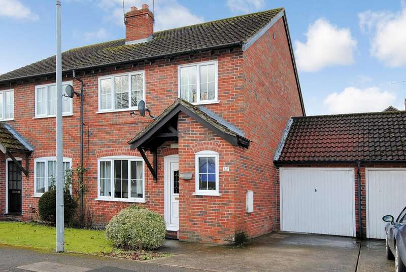3 Bedrooms Semi Detached House for sale in Vicarage Gardens, Netheravon, Salisbury SP4