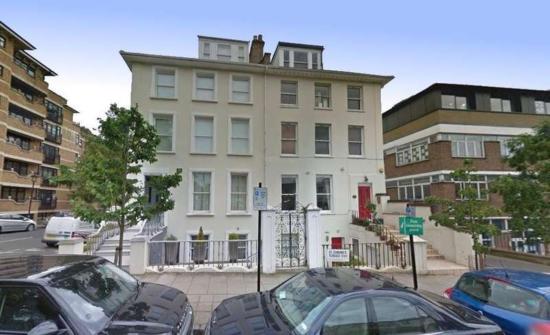 2 Bedrooms Flat for sale in St. Edmunds Terrace,