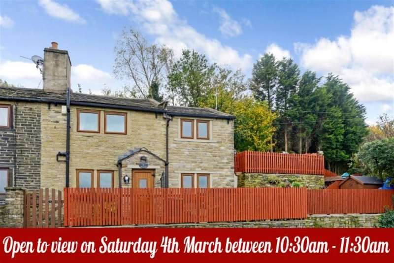2 Bedrooms Semi Detached House for sale in Mona Cottages, Elland