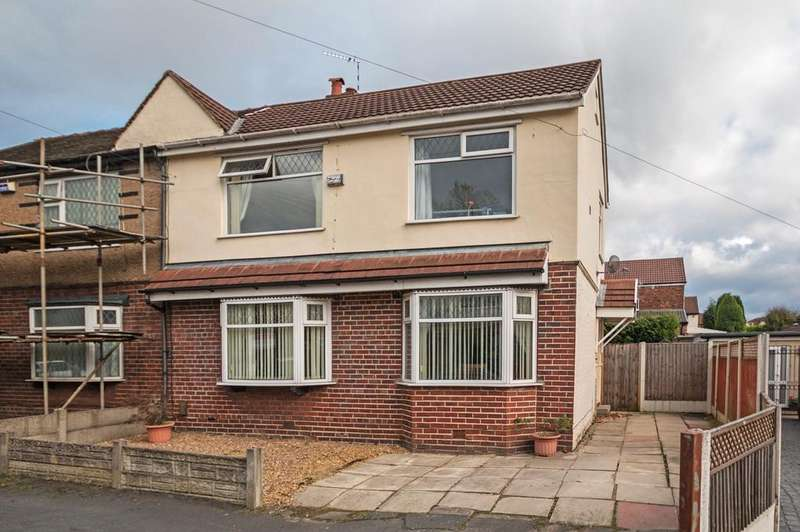 3 Bedrooms Semi Detached House for sale in Scholfield Avenue, Urmston, Manchester, M41