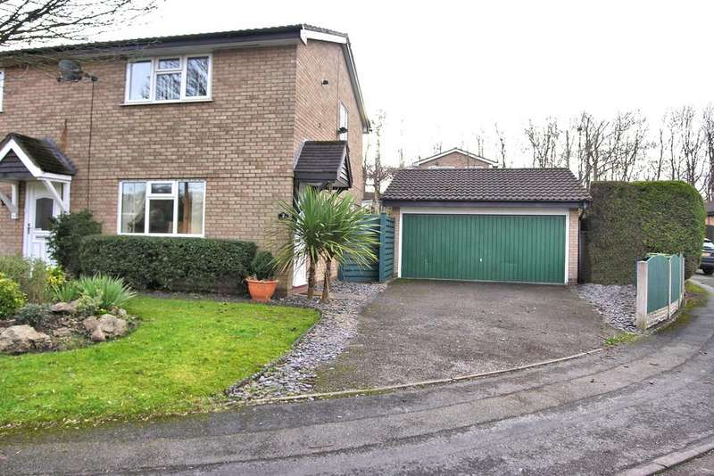 2 Bedrooms Semi Detached House for sale in LEXINGTON GREEN, WESTERN DOWNS, STAFFORD ST17