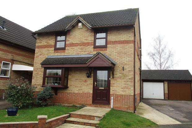 3 Bedrooms Detached House for sale in Beaune Close, Northampton, NN5