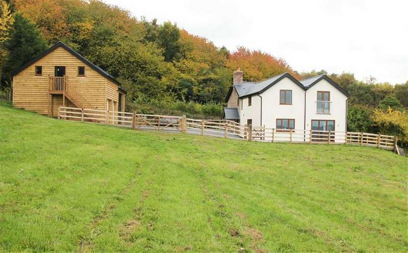 4 Bedrooms Detached House for sale in Upper Hill, BUSH BANK, Bush Bank, Herefordshire