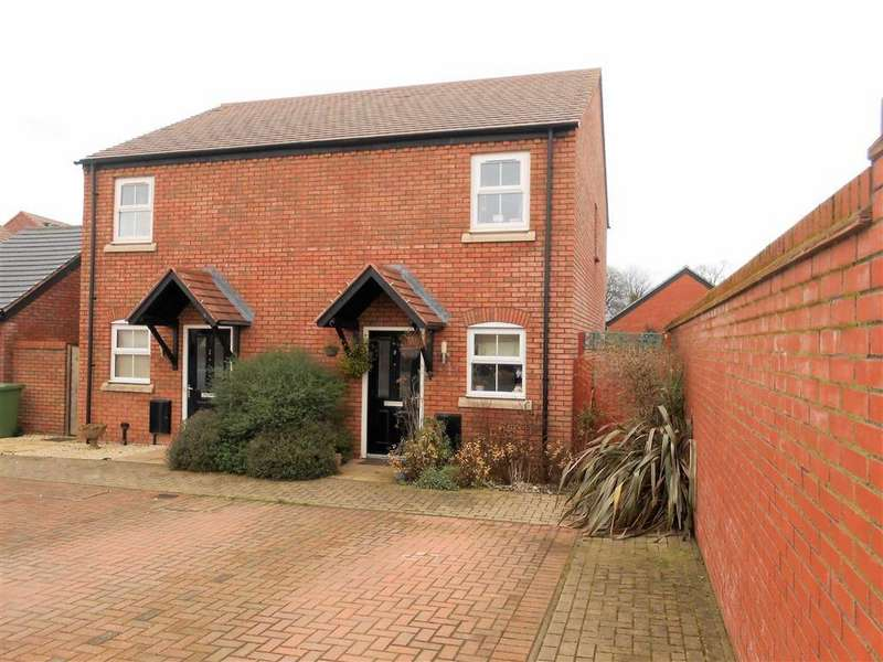2 Bedrooms Semi Detached House for sale in The Furlongs, Hereford, Herefordhire