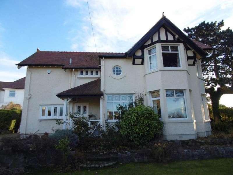 4 Bedrooms Detached House for sale in Gannock Park, Deganwy, LL31 9PZ