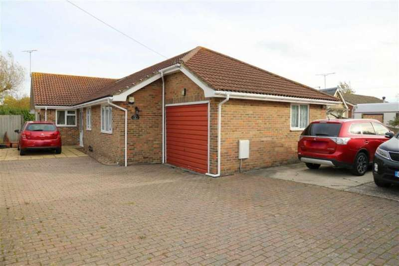 4 Bedrooms Detached Bungalow for sale in Sea Road, Winchelsea Beach