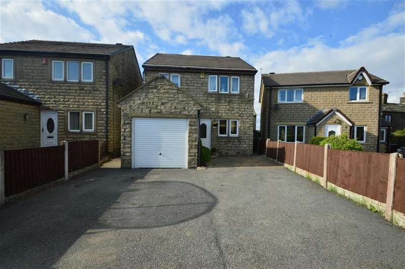 3 Bedrooms Detached House for sale in Moss Tree Close, Queensbury BD13, Queensbury Bradford
