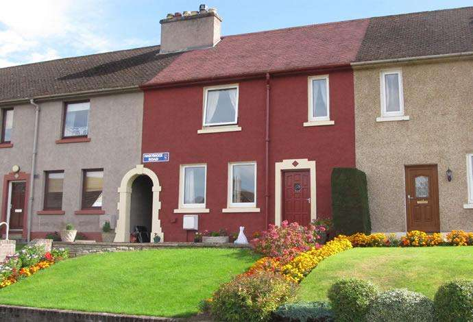 3 Bedrooms Terraced House for sale in 16 Hartrigge Road, Jedburgh, TD8 6HF