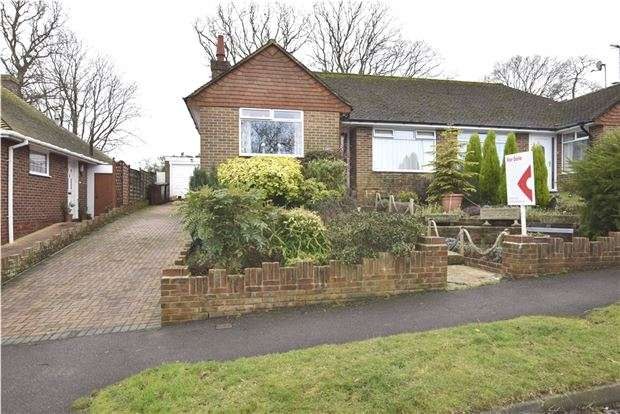 2 Bedrooms Semi Detached Bungalow for sale in Windmill Drive, BEXHILL-ON-SEA, East Sussex, TN39 4DG