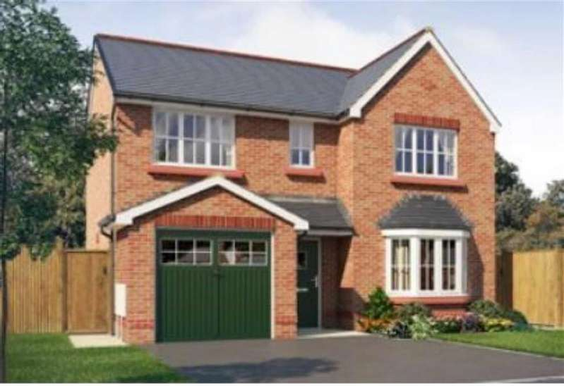 4 Bedrooms Detached House for sale in Vicarage Road, Haslington, Crewe