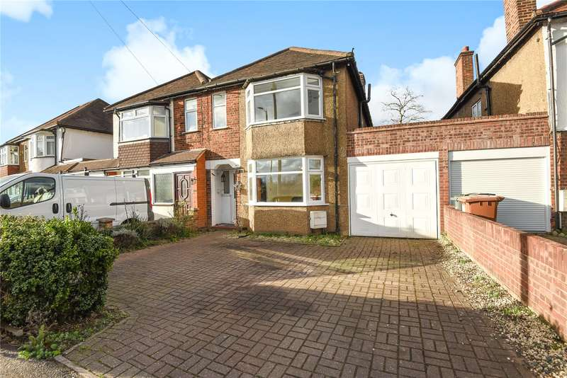3 Bedrooms Semi Detached House for sale in Watford Road, Croxley Green, Hertfordshire, WD3