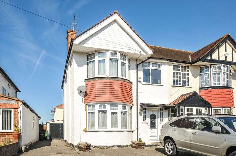 3 Bedrooms Semi Detached House for sale in Merton Way, Hillingdon, Middlesex, UB10