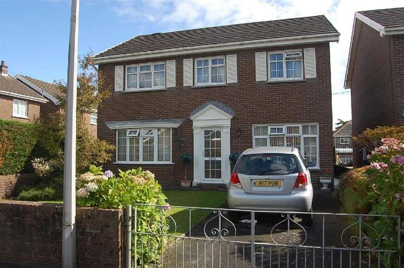4 Bedrooms Detached House for sale in Stewart Drive, Ammanford