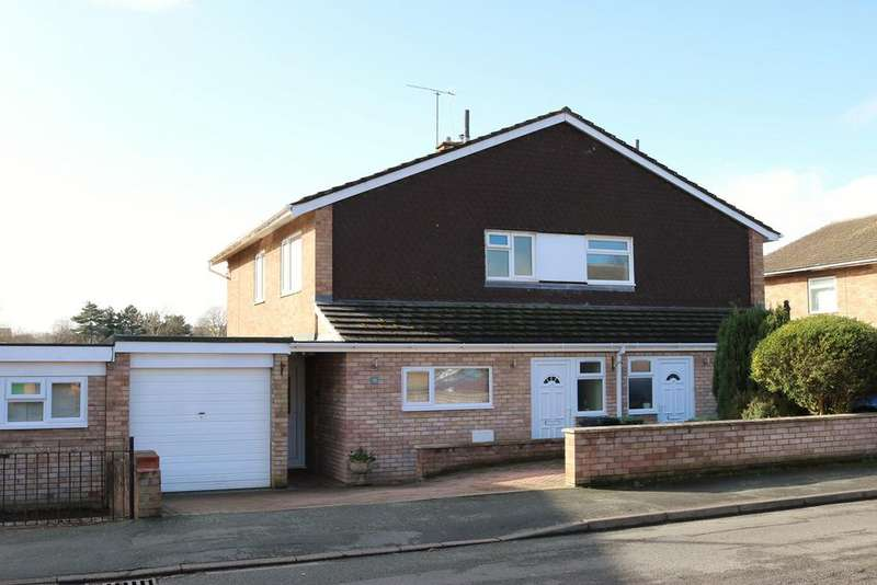 3 Bedrooms Semi Detached House for sale in Bladon Crescent, Aylestone Hill, HEREFORD, HR1