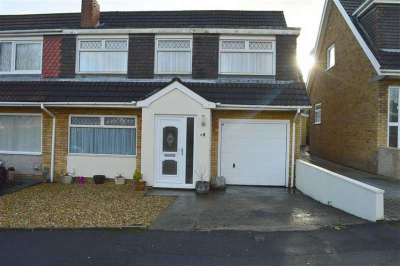 4 Bedrooms Semi Detached House for sale in Heol Bryn Glas, Swansea, SA4