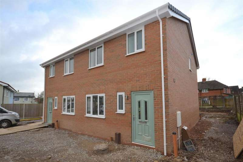 3 Bedrooms Semi Detached House for sale in Calvert Grove, Bradwell, Newcastle