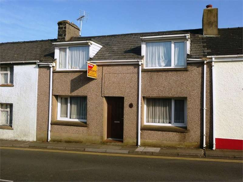 2 Bedrooms Cottage House for sale in 7 Ropewalk, Fishguard, Pembrokeshire